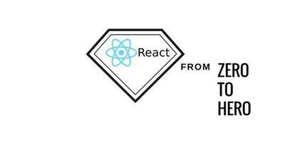 React.js - from zero to hero image