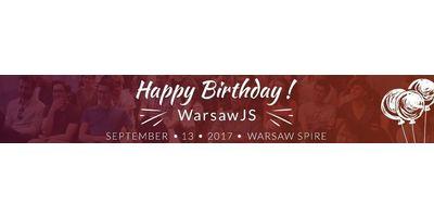 WarsawJS Meetup #37 - 3 urodziny image