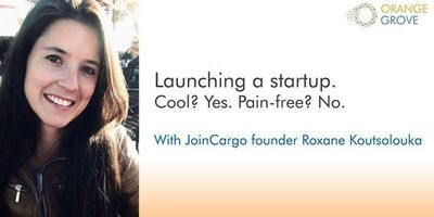 Launching a startup. Cool? Yes. Pain-free? No image