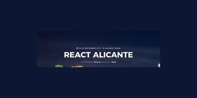 React Alicante 2017 image