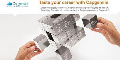 Taste your career with Capgemini w Amfiteatrze w Opolu. image