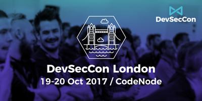 DevSecCon: London 2017 image