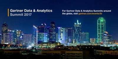 Gartner Data & Analytics Summit 2017 image