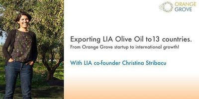 From Orange Grove startup to international growth! image