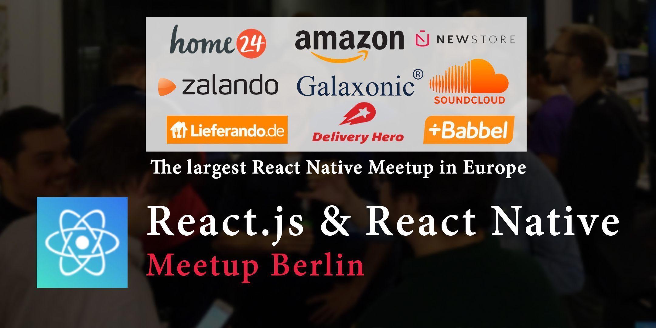 Reactjs React Native Berlin Meetup At Home24 Eventil