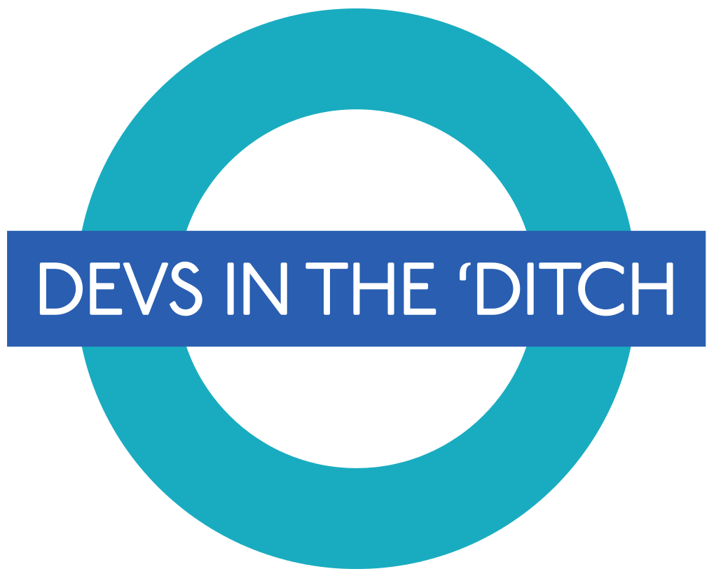 Devs in the 'ditch image