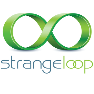 Facebook strange loop logo final color no year square